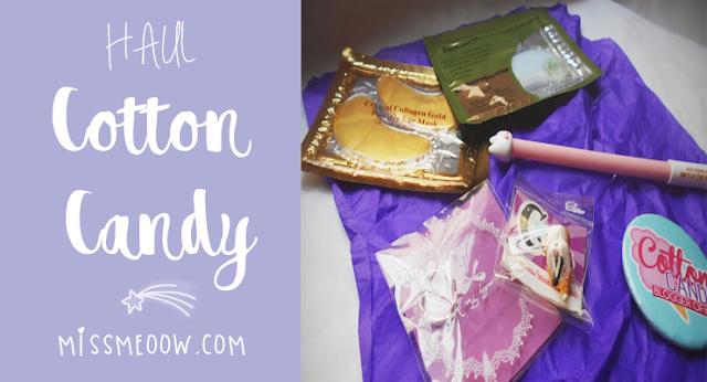 Haul: Tienda Cotton Candy