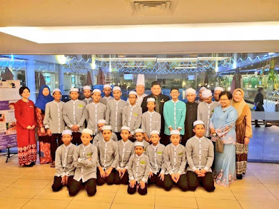 A RAMADHAN TREAT FOR THE UNDERPRIVILLAGED CHILDREN AT PAN BORNEO HOTEL KOTA KINABALU