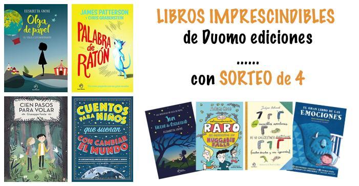 libros juveniles recomendados duomo ediciones imprescindibles