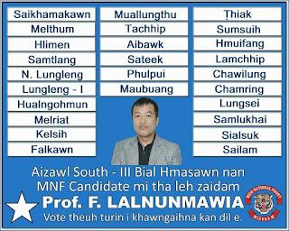 Professor F. Lalnunmawia