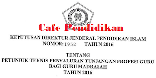 DOWNLOAD JUKNIS TPG GURU KEMENAG 2016