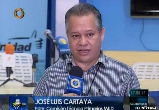Quién es José Luis Cartaya, el nuevo jefe de la MUD