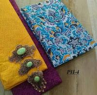 Kain batik motif solo cerah