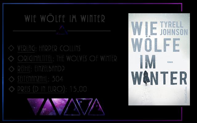 [Rezension] Wie Wölfe im Winter - Tyrell Johnson