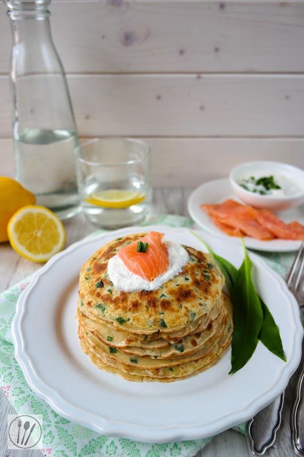 Bärlauch-Pfannkuchen