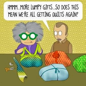 Quilting Corner בס ד I Just Love Quilting Cartoons