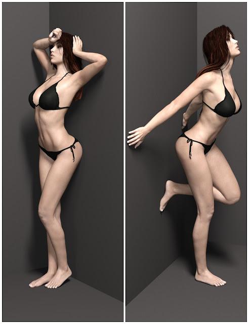 Premium Portrait Poses - Wall