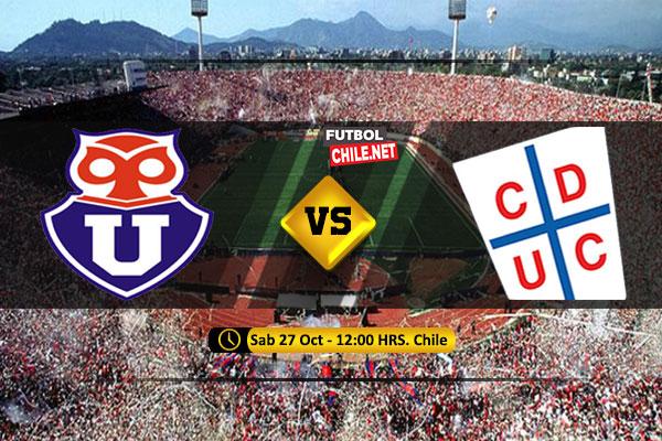 Mira Universidad de Chile vs Universidad Católica en vivo y online por la Primera División
