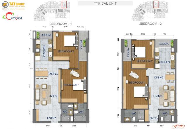 Thiết kế căn hộ 440 Vĩnh Hưng