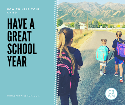 How To Help Your Child Have a Good School Year
