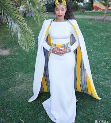 K'Mich Weddings - wedding planning - African wedding attire - dress idea