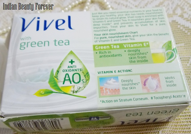 Vivel  Mixed fruit and Green tea soap Review  price