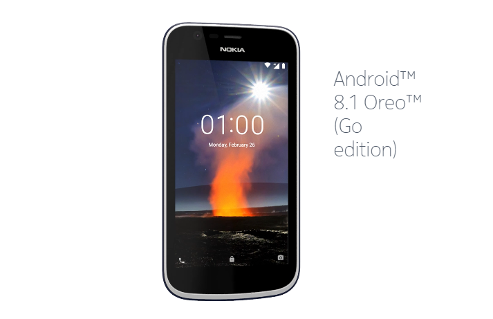 Nokia 1 Android Go Edition Smartphone Launched In India ...
