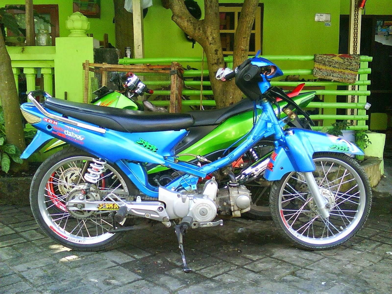Koleksi Modifikasi Motor Supra 100cc Terkeren Palm Modifikasi