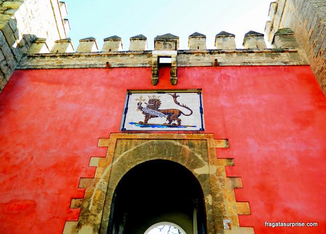 Porta do Leão, Real Alcázar de Sevilha