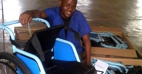 Daniel Habanabakize, young entrepreneur from Rwanda