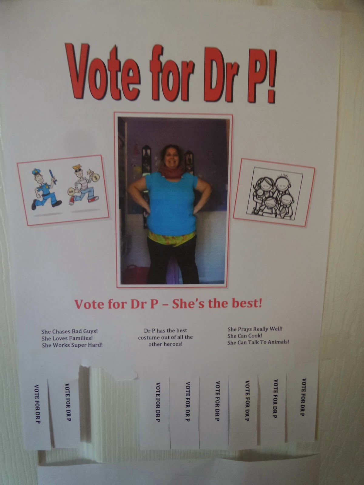 Vote for Dr P!
