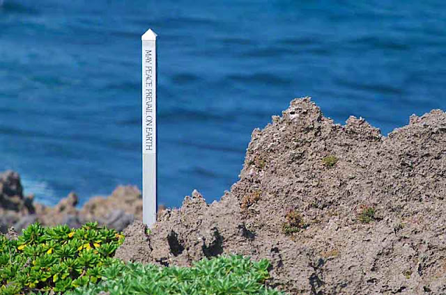 sign, peace, Okinawa