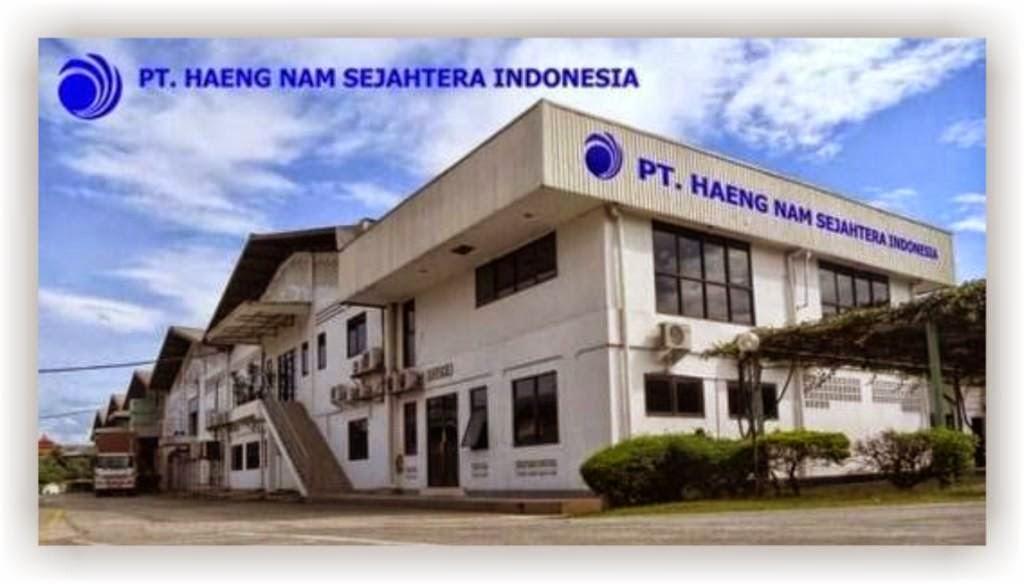 Loker Terbaru Bogor Lulusan SMA Sederajat untuk di PT Haeng Nam Sejahtera Indonesia