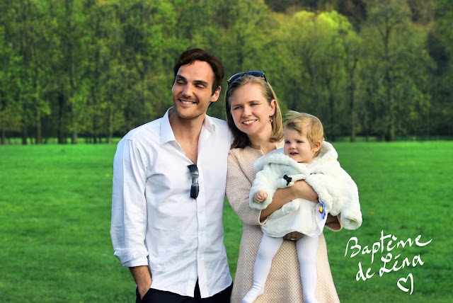 Baptème de Lena, fille de l'artiste Ben Heine - Avril 2017