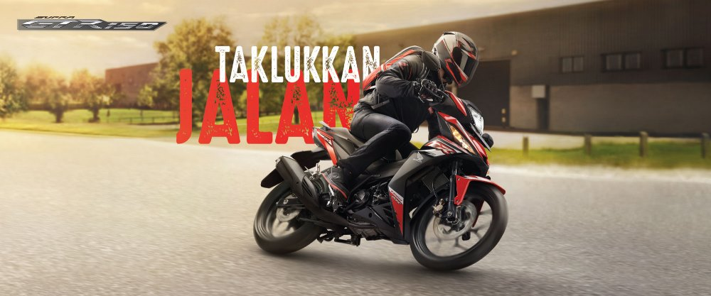 Lengkapi Momen Ramadhan Honda Luncurkan Warna Baru Supra GTR150 melengkapi momen Ramadhan 2018, Astra Honda Motor (AHM) meluncurkan warna baru Honda Supra GTR150 yang semakin trendy dan sporty.