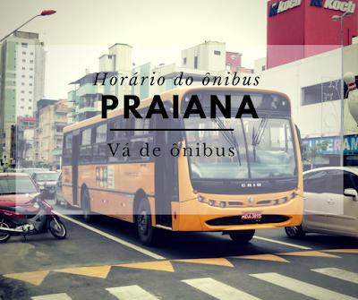 Horário do ônibus Praiana em Itapema