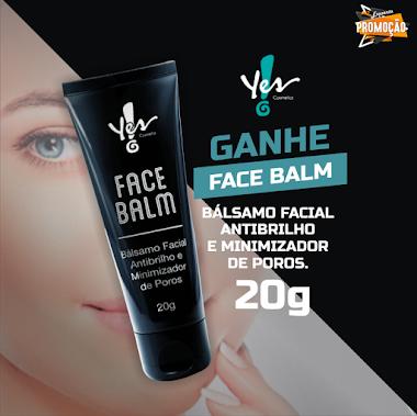 Brindes Grátis - Ganhe um Face Balm na Yes Cosmetics