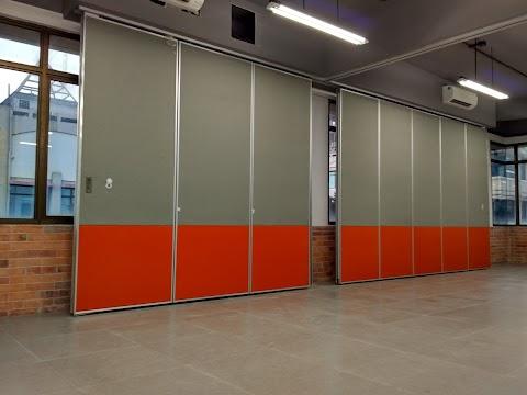Penyekat Ruangan Movable Wall Sederhana dan elegan