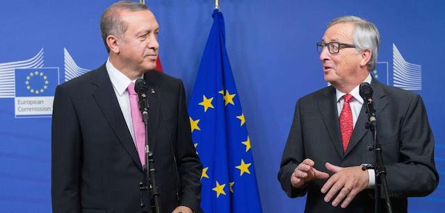 Ωμός εκβιασμός Ερντογάν στην Ευρώπη των πολιτικών νάνων