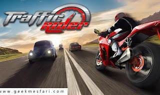 تحميل لعبة traffic rider  مهكرة أخر اصدار أموال غير محدودة
