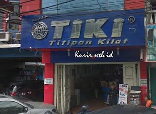 Alamat agen TIKI di Medan.