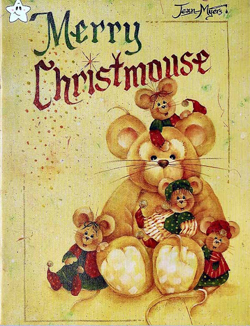 Merry Christmouse by Jean Myers Decorative Tole Painting