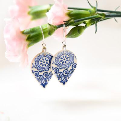 Zu Design, joyas polacas, pendientes de cerámica, joyas de cerámica, diseñadora polaca