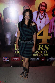 Shibani Kashyap Launches her Music Single led 24 Hours Irresponsible 018.JPG