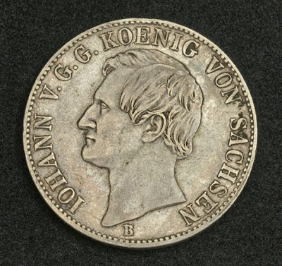 Saxony Silver Coin Mining Thaler