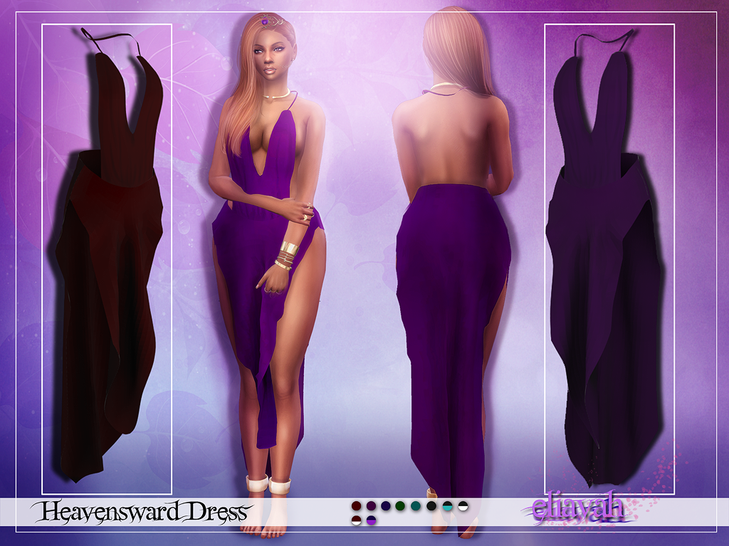 My Sims 4 Blog: Heavensward Dress by Eliavah