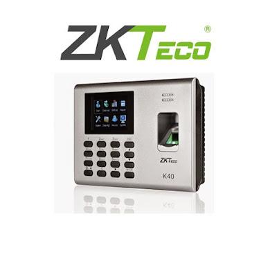 Máy chấm công ZKteco K40 vân tay và thẻ
