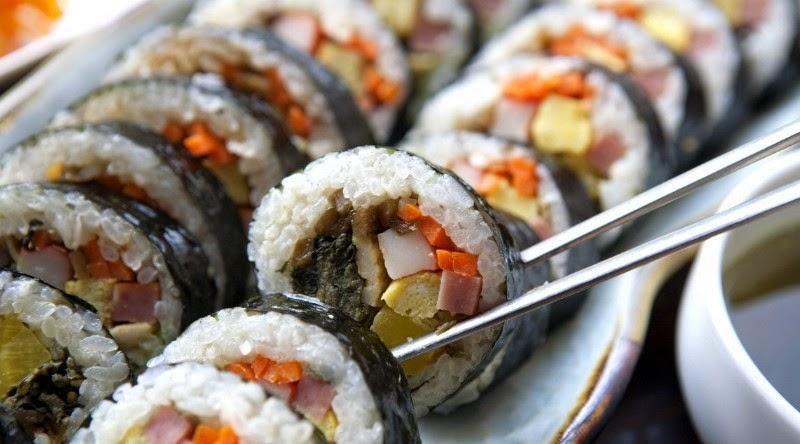 首爾名店 - 朝鮮海苔飯捲
