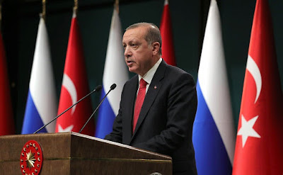President of the Republic of Turkey Recep Tayyip Erdogan