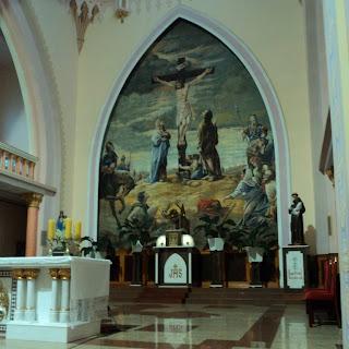Pintura Atrás do Altar da Catedral de Frederico Westphalen