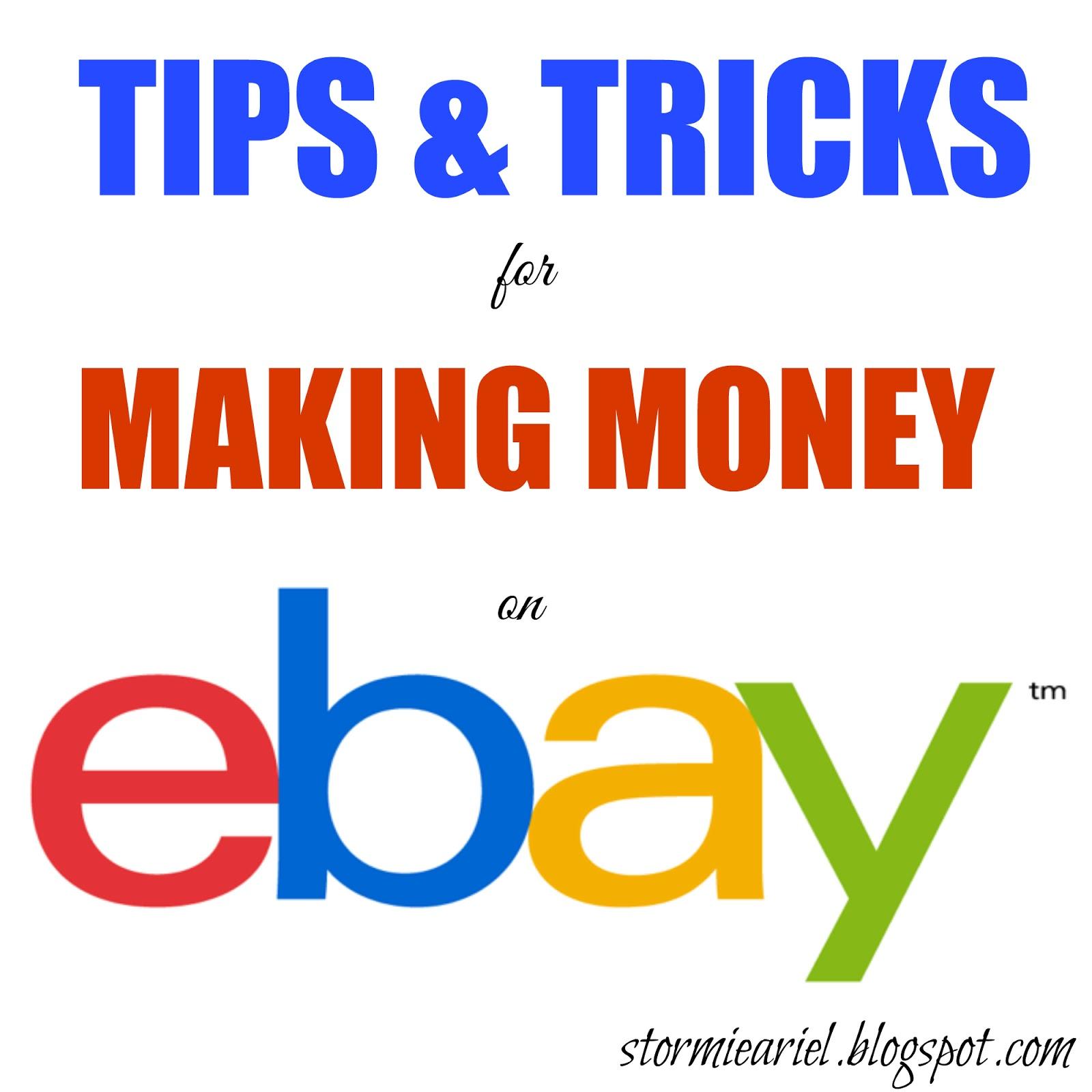 Tips & Tricks for Making Money on eBay
