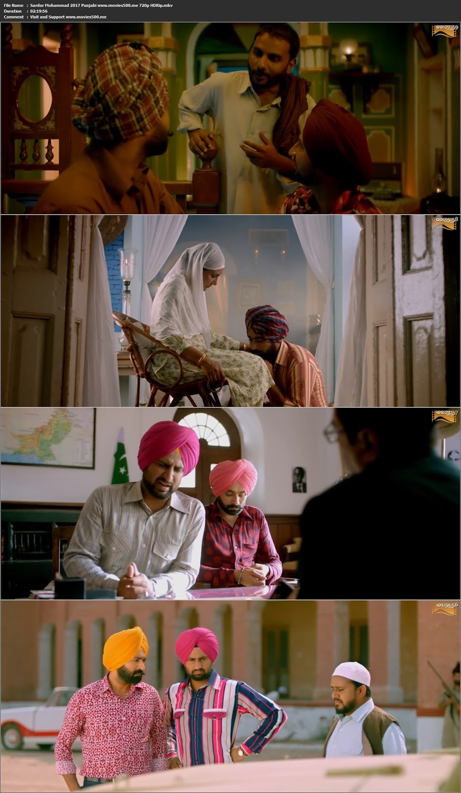 Sardar Mohammad 2017 Punjabi Full Movie HDRip 720p at movies500.info