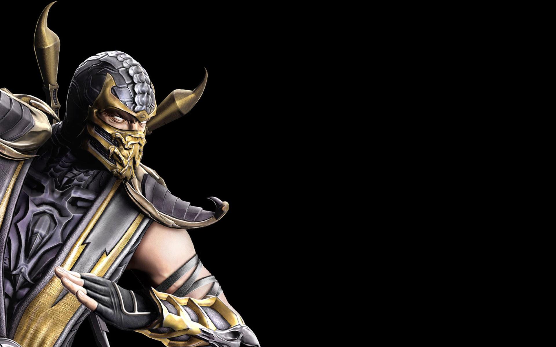 Scorpion Wallpaper Mortal Kombat 3D Images