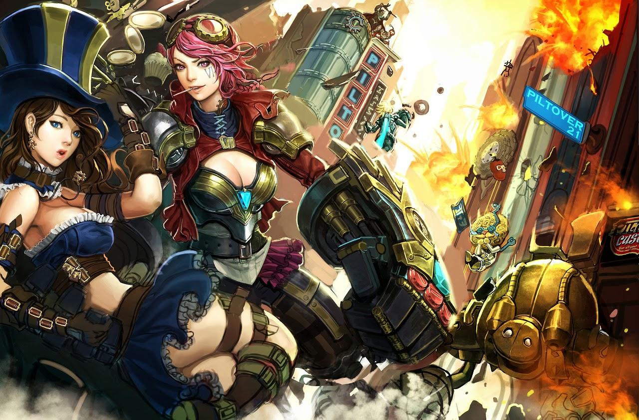 League Of Legends, Vi Wallpapers HD / Desktop and Mobile