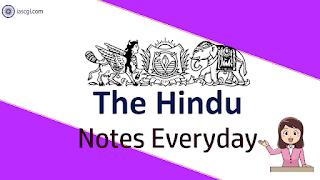 The Hindu Notes 29 April 2019 Important Articles