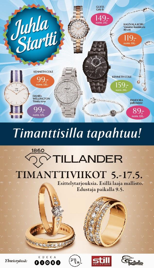 19 Timanttiset-myymälää suljetaan – taustalla osakasyrityksen konkurssi