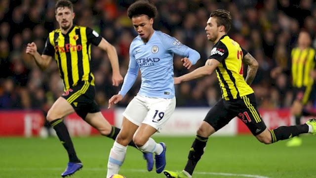 Manchester City Vs Watford Leroy Sane