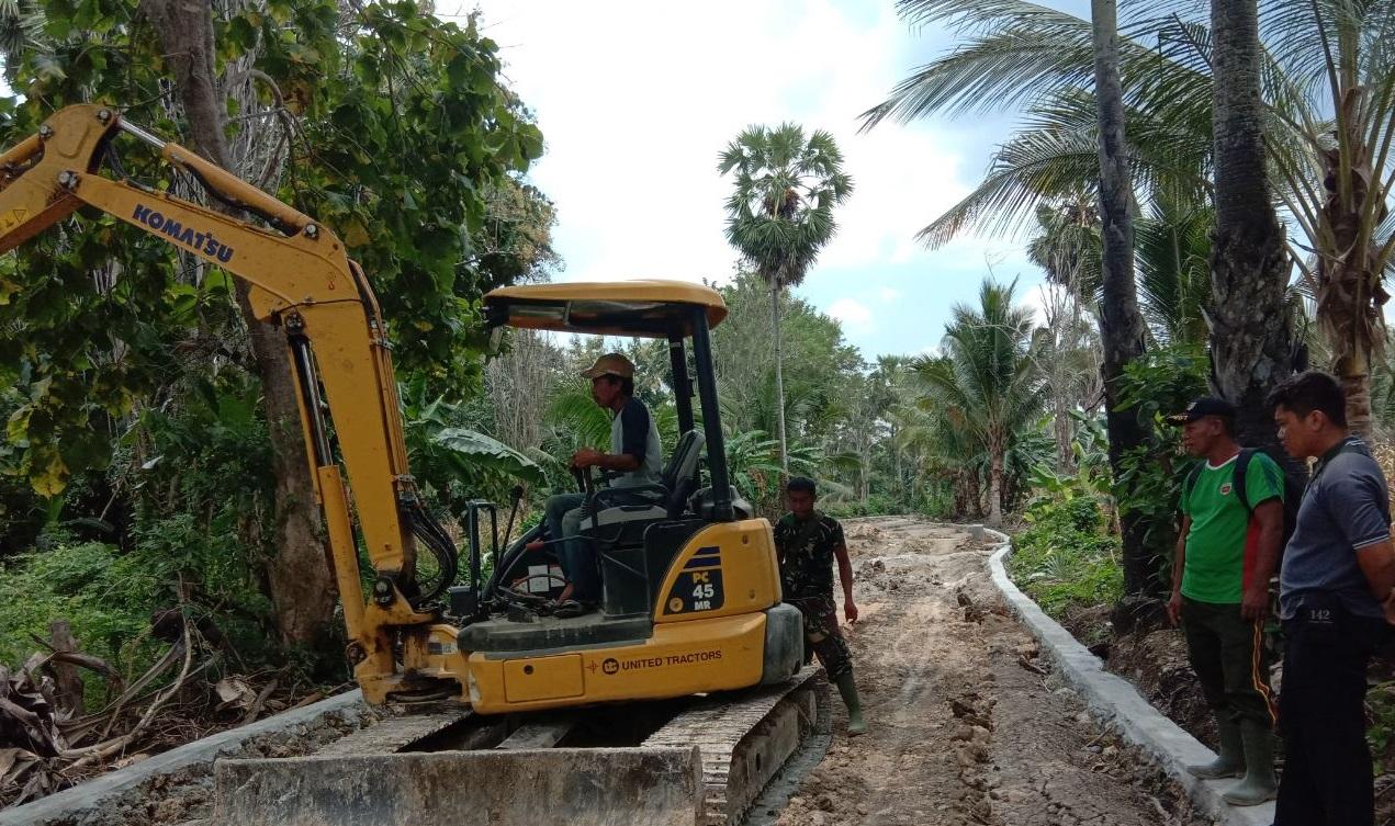 Program TMMD ke 104 Wujudkan Harapan dan Mimpi Rakyat di Desa Tertinggal