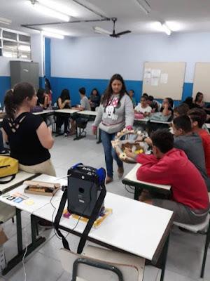 Escola Yolanda realiza Oficina de Prevenção a Infecções Sexualmente Transmissíveis e Gravidez Indesejada