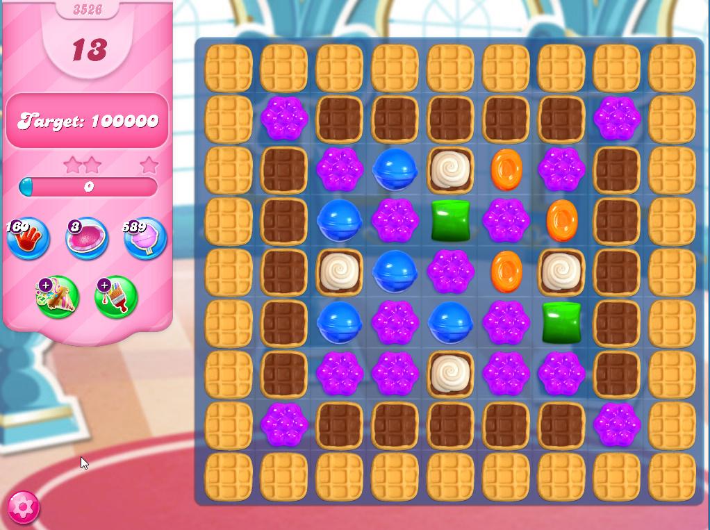 Candy Crush Saga level 3526